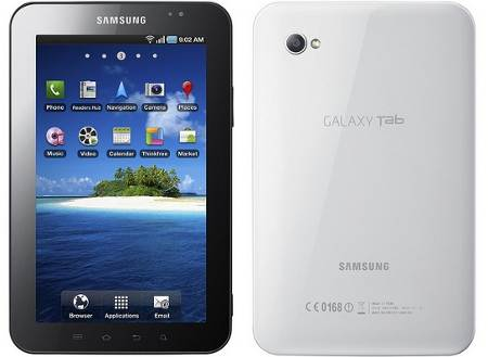Samsung's Galaxy Tab Challenges the iPad