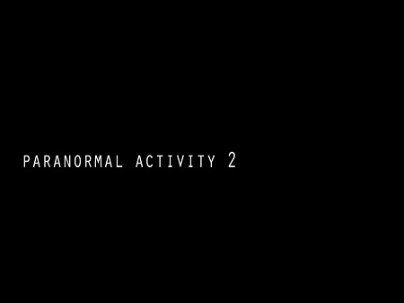 """Paranormal Activity 2"" Makes A Big Scare"
