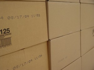 packages boxes