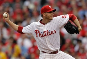 Roy Halladay Pitches Playoff No Hitter