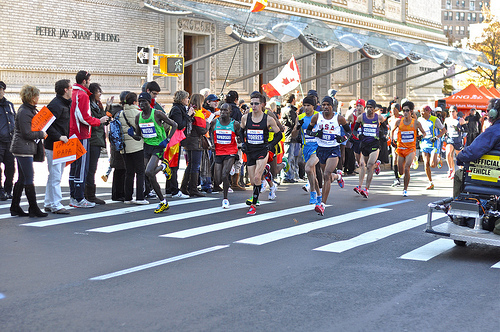 NYC Marathon Draws Survivors And Reality TV Celebrities