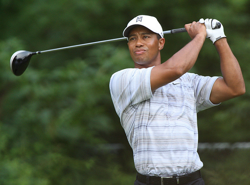 "The Latest Version Of Tiger Woods Is ""Blessed"" And ""Balanced"""