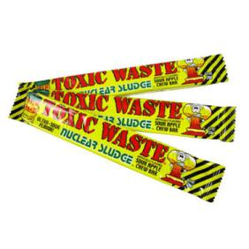 toxic waste candy car
