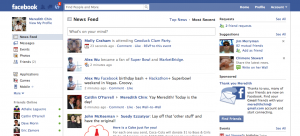 zuckerberg home page
